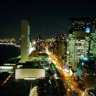#UnitedNations #nyclights #partywithaview