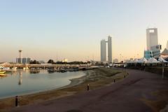 Heimreise mit Zwischenstopp in Abu Dhabi.
