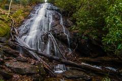 Rufus Morgan Falls (Bradley Nash Burgess) Tags: longexposure never nature waterfall nc nikon exploring northcarolina hike adventure stop nantahala wnc d7000 nikond7000 rufusmorganfalls rufusmorgan