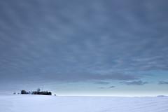 No. 0986 The weather station (H-L-Andersen) Tags: winter sky snow station weather canon landscape 6d landoflight canoneos6d hlandersen