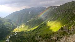 Arcobaleno (miramann) Tags: schweiz rainbow glacier alpen arcobaleno wallis regenbogen uri rhonegletscher 3045 urner gletscherschmelze miramann furkapassstrasse rhonequelle talgletscher gletscherrestaurant