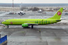 S7 Airlines, VP-BQF, Boeing 737-83N (Anna Zvereva) Tags: plane airport aviation airbus boeing spotting dme domodedovo домодедово uudd