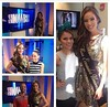 Alejandra Argudo, Miss Ecuador 2014, en Showbiz de CNN en español.