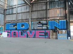 EDEN . SOLVEIG (Brighton Rocks) Tags: graffiti brighton eden solveig