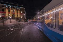 DSC_0650_1280 (Vrakpundare) Tags: göteborg hotel nightshot sweden gothenburg tram lighttrails sverige clarion hotell drottningtorget posthotellet henryblom vrakpundare