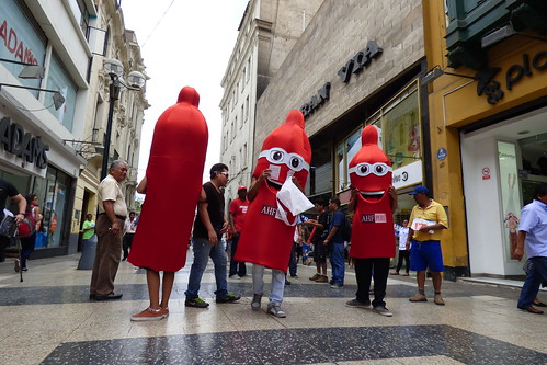 International Condom Day 2015: Peru