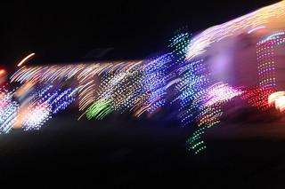 Christmas Lights on the Move