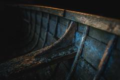 Old and Rugged (Jyrki Salmi) Tags: old detail 50mm boat wooden nikon paint bokeh row nikkor ai jyrki f12 d600 salmi