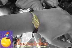 Pulsera alada #macrame (Macradabra) Tags: navidad alas bracelet regalos regalitos pulseras macram armparty frienshipbracelets macradabra