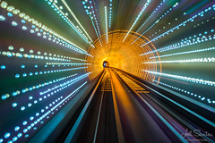 3.2 seconds, Shanghai tunnel, China (Joel Santos - Photography) Tags: china travel underground long exposure shanghai time joel sightseeing tunnel santos huangshan 上海|shanghai