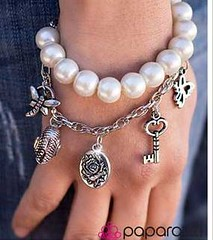 5th Avenue White Bracelet K1 P9409-1