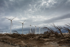 _A711522.jpg (Red Gold and Green) Tags: wind dry drought storm pozoizquierdo grancanaria strongwinds windturbines energy longtimeexposer