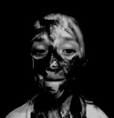 DSCN1840bnb (philip.lea1994) Tags: family white black art college portraits project paint camouflage backround