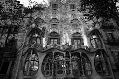 Casa Batlló, Barcelona (bm^) Tags: barcelona city travel trees urban tree art architecture de casa spain bomen modernism catalonia boom paseo gaudi catalunya es nouveau passeig gràcia gracia architectuur modernisme batlló jugendstill начинизавиждане distagon282zf distagont228