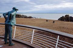 La plage de Monsieur Hulot (davidphr) Tags: fuji vsco vscofilm x100t