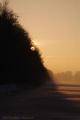 Tervuren.Belgium (Natali Antonovich) Tags: park christmas winter sunset sun snow nature landscape frost quiet belgium silence tervuren christmasholidays quietude