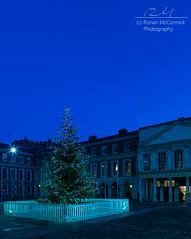 Tree Out, Tree In (Ronan McCormick) Tags: christmas longexposure ireland dublin tree castle night canon twilight dusk courtyard civil dublincastle bedfordtower chapelroyal recordtower bluemoment ilobsterit