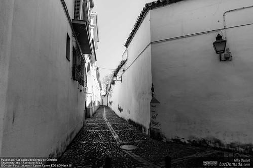 Paseos por las calles desiertas de Córdoba