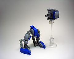 ADS Model D410 - Breakdown 1 (Jay Biquadrate) Tags: lego mecha mech moc microscale mfz mf0 mobileframezero