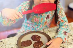 Week-2- Storytelling (photos=happiness - I am back!!) Tags: light girl cookies spatula storytelling myfourhens