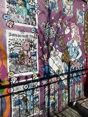 Aiko street art, New York (duncan) Tags: nyc williamsburg newyork newyorkcity graffiti streetart stencil stencils aiko ladyaiko