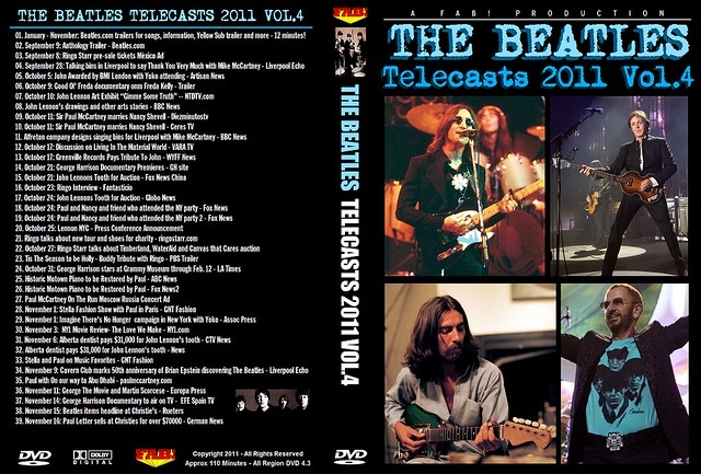 The Beatles Telecasts 2011 Vol 4