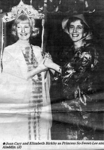 1989 Aladdin 05 (from left Joan Carr, Liz Birkby)