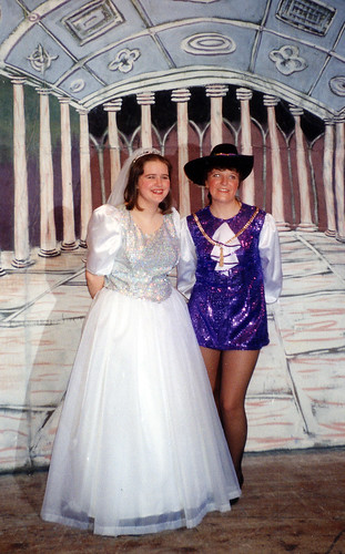 1994 Dick Whittington 25 (from left Katie (Ivermee) Bullock, Sue Hewerdine)