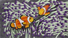 "Artwork ""Clown Fish"" 2015 (Wild Chroma) Tags: fish art animal illustration painting artwork drawing marker letraset tria"