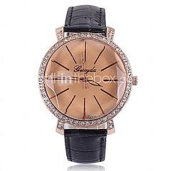 shangfei ™ женской одежды круглые кварцевые Циферблат часы (разных цветов)