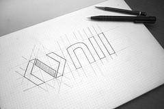 Sketches Logo NII (Fancy Design) Tags: blue logo sketch code technology type sketches brand ios branding typeface freelance logotype develop logodesign brandingdesign sketcheslogo
