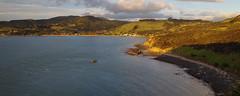 Arai te Uru 3 (Markj9035) Tags: sunset sea newzealand lake ferry coast lakes windswept coastline northland ahipara northlands oponomi