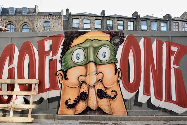 Street Art, London.