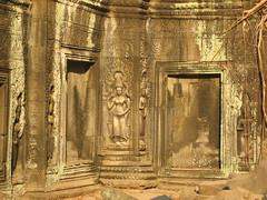 Stone Carving at Preah Khan
