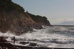 View from the end (MN_2) Tags: sea beach landscape capetown surfing gordonsbay bikinibeach
