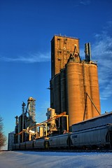 Bunge Grain Elevator Homer Illinois (Ray Cunningham) Tags: winter illinois elevator grain homer hdr bunge