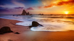 A beautiful sunset day at the beach (Alex T Sam) Tags: