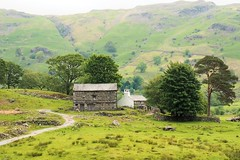 farmhouse in langdale valley (the rinascente gallery) Tags: trees sky mountains green home nature grass barn design countryside solitude interior air lakedistrict peaceful hills architect silence valley shelter breathe bliss reverie