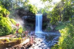 Minnehaha Falls (YaBoyReggie) Tags: water minnesota exposure minneapolis falls mn minnehaha