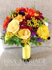 buchet de mireasa cu dalia si trandafiri galbeni (IssaEvents) Tags: buchet de mireasa cu dalia si trandafiri galbeni issaevents issamariage bucuresti valcea slatina