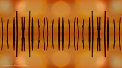 tribal (ojoadicto) Tags: abstract abstracto tribal simbolos espacial bokeh cielo digitalmanipulation manipulaciondefotos artisticphotography
