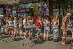 watching (stevefge) Tags: nijmegen vierdaagse nederland netherlands nederlandvandaag reflectyourworld people girls candid street watchers summer