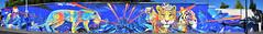 Marko 93    Katre (HBA_JIJO) Tags: graffiti animal art france artiste artist hbajijo wall mur color painting marko93 peinture katre monkey blue paris93 spray bombeaerosol singe tigre tiger leopard flin guepard saintdenis panorama urban streetart flickrunitedaward