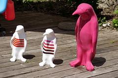 DSC01752 - (hermaion1) Tags: statues art artistes pingouins expositions couleurs