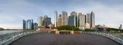 Panorama View CBD (ystan) Tags: weather marina bay singapore pavilion fullerton ais20mmf28