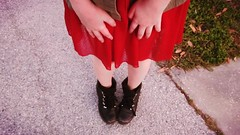 Indie Sweetheart Red Steampunk Dress (Laurali Star Love) Tags: steampunk outfits combatboots teenagegirls chloe