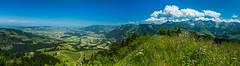 Panorama de la Vudalla (Switzerland) (christian.rey) Tags: panorama landscape suisse assemblage sony lac fribourg alpha paysage 77 gruyère 1650 lr6 préalpes vudalla fribourgoises