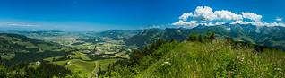 Panorama de la Vudalla (Switzerland)