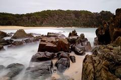 From the rocks (jack eastlake) Tags: beach nature nude bay coast south valley nsw far bermagui nudists bega armands naturists barragga
