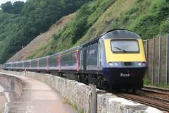 43198 Oxfordshire 2007 (uktrainpics) Tags: class 43 hst teignmouth 43198 oxfordshire 2007
